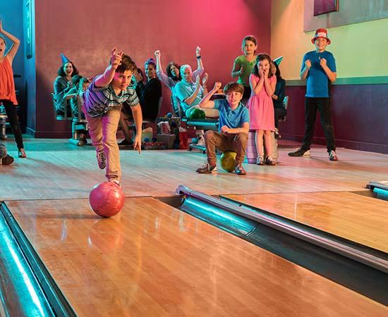 kids bowling league